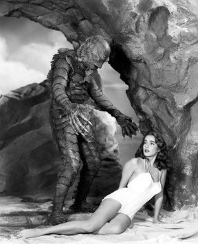 "Promotion still from ""Creature/Black Lagoon"" with Chapman & Adams"